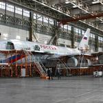 Ил-96 на Воронежском заводе