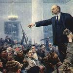 В.И. Ленин провозглашает Советскую власть