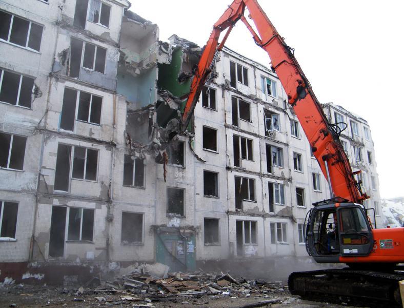 Снос пятиэтажек несносимых серий: впрограмму попадут неменее 500 кварталов