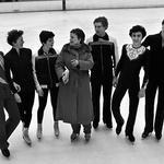 Е.А. Чайковская с учениками