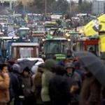 По всей Греции разрастаются акции протеста крестьян