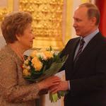 Путин и Наина Ельцина