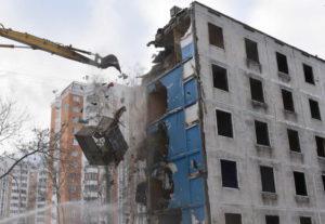 Снос пятиэтажек в сзао гМосквы в 20142015 годуАдреса