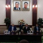 Торжественный прием по случаю 69-й годовщины установления дипломатических отношений между КНДР и Россией
