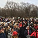 Митинг у ДК им.Горбунова 26.11.17