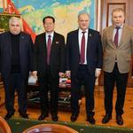 Встреча с послом КНДР