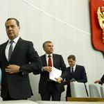 Медведев в Думе