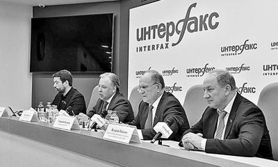 Конференция в Москве, посвящённая предстоящим в сентябре выборам пресс-конференция, с участием Председатель ЦК КПРФ Г.А. Зюганов