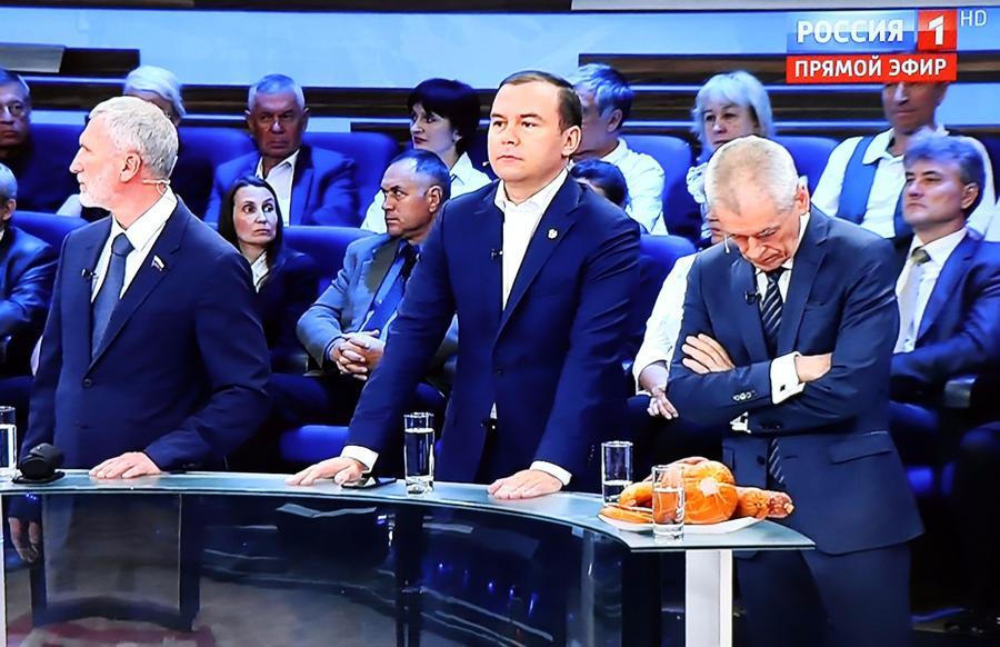 Юрий Афонин в эфире «России-1»: «Большинство россиян вынуждено питаться фальсификатом»